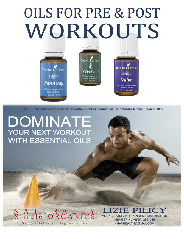 BOOST your work outs with Essential Oils